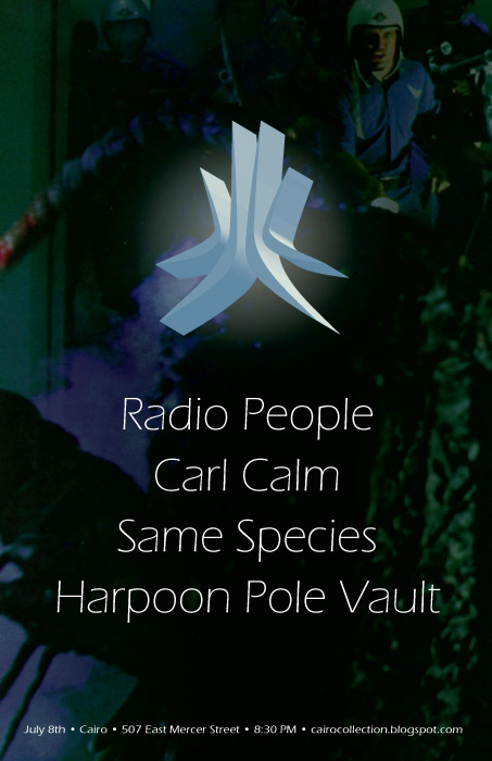 Radio People, Carl Calm, HPV, Same Species